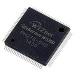 WIZnet Inc W5300, Ethernet Controller, 10Mbps MDI/MDIX, MII, 3.3 V, 100-Pin LQFP