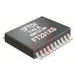 FTDI Chip UART 20-Pin SSOP, FT231XS-U