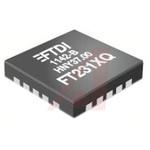FTDI Chip FT231XQ-T, USB Controller, 3MBd, USB 1.1, USB 2.0, 5 V, 20-Pin QFN