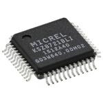 Microchip , 1-Channel Ethernet Transceiver 48-Pin LQFP, KSZ8721BLI