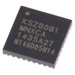 Microchip , 1-Channel Ethernet Transceiver 32-Pin QFN, KSZ8081MNXCA-TR