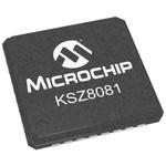 Microchip , 1-Channel Ethernet Transceiver 32-Pin QFN, KSZ8081MNXIA-TR