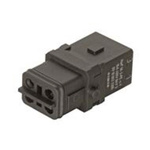 HARTING Han 1A Heavy Duty Power Connector Insert, 3 contacts, 16A, Female