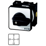 Eaton 4 Position 90° Changeover Switch, 690 V ac, 20 A, Rotary Knob Actuator