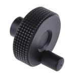Elesa Black Technopolymer Hand Wheel 34598-C9, 60mm