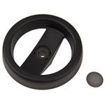 Elesa Black Technopolymer Hand Wheel 78511, 99mm