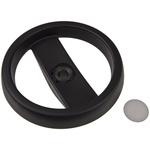 Elesa Black Technopolymer Hand Wheel 78711, 160mm