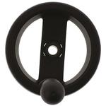 Elesa Black Technopolymer Hand Wheel 78521, 99mm
