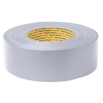 3M 389 Silver Fabric Floor Tape, 50mm x 50m