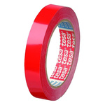 Tesa 4104 Red Packing Tape, 66m x 25mm