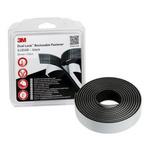 3M Dual Lock™ SJ3540 Black Hook & Loop Tape, 25.4mm x 2.5m