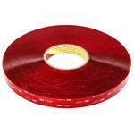 3M 4910F, VHB™ Clear Foam Tape, 19mm x 33m, 1mm Thick