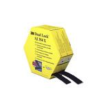 3M Dual Lock™ SJ354X Black Hook & Loop Tape, 25mm x 5m