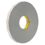 3M 4941P, VHB™ Grey Foam Tape, 25mm x 33m, 1.1mm Thick