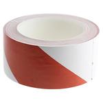 Brady Red/White PVC Lane Marking Tape, 50mm x 33m
