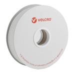 Velcro White Hook & Loop Tape, 22mm x 5m