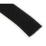 Velcro Black Hook & Loop Tape, 20mm x 5m