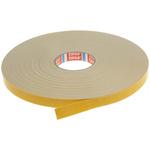 Tesa 4952 White Adhesive Foam Tape, 19mm x 50m, 1.15mm Thick