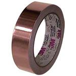 3M 1194 Non-Conductive Tin Clad Copper Tape, 19.1mm x 33m