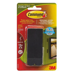 3M Command™ 17206N Black Picture Hanging Strips, 19mm x 92.7mm