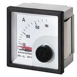 Siemens 3NJ6900 Analogue Panel Ammeter 50A AC