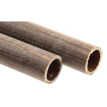 Tufnol® Black, Natural Paper Laminated Plastic, 1.17m x 15.88mm OD x 12.7mm ID x 3.2mm