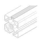 Bosch Rexroth Cover Strip, PVC, 10mm Slot, Light Grey x 2m