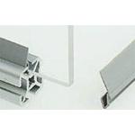 FlexLink Rim Strip, PVC, 11mm Slot, Grey x 3m