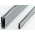 FlexLink Cover Strip, PVC, 11mm Slot, Grey x 3m