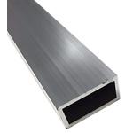 6063 T6 Rectangular Aluminium Tube, 1m x 2in x 1in, 10SWG
