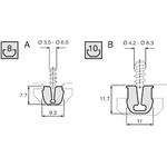 Bosch Rexroth Cover Strip, PVC, 8mm Slot, Light Grey, 2pcs x 2m