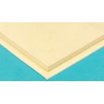 RS PRO Beige Rubber Sheet, 1m x 1m x 10mm