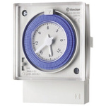 1 Channel Analogue DIN Rail Time Switch Measures Minutes, 230 V ac