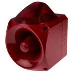 Klaxon Nexus Sounder Beacon 120dB, Red Xenon, 10 → 60 V dc