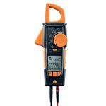 Testo 770-3 Bluetooth AC/DC Clamp Meter, 600A dc, Max Current 600A ac CAT 3 1000 V, CAT 4 600 V