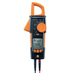 Testo 770-3 AC/DC Clamp Meter, Max Current 600A ac CAT 3 1000 V, CAT 4 600 V With RS Calibration