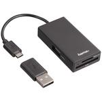 HAMA USB 2.0 External Card Reader for MicroSD, SD Card Types