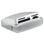 Lexar USB 2.0 External Card Reader for Compact Flash Type I, Compact Flash Type II, Memory Stick, Memory Stick Duo,