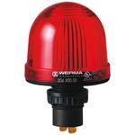 Werma EM 207 Red LED Beacon, 230 V ac, Steady, Panel Mount
