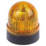 Werma BM 202 Yellow Xenon Beacon, 230 V ac, Blinking, Wall Mount
