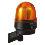Werma EM 205 Yellow Xenon Beacon, 24 V dc, Blinking, Wall Mount
