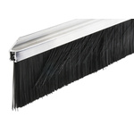 RS PRO Aluminium, Nylon Black Brush Strip, 60mm x 13.2 mm x 12mm