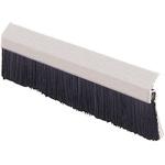 RS PRO Aluminium, Nylon Black Brush Strip, 150mm x 13.5 mm x 13.2mm