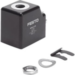 Festo Replacement Solenoid Coil, Compatible With MSFG, MSFW, VACS
