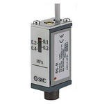 SMC Pressure Switch, R 1/8 0.7 (Operating) MPa, 1 (Proof) MPa