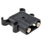 Rema Chassis Mount 2P Industrial Power Plug, Rated At 80.0A, 150.0 V
