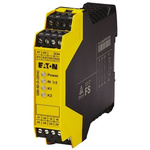 Eaton Safety Relay -  Dual Channel With 3 Safety Contacts  Compatible With Emergency Stop, Safety Switch/Interlock
