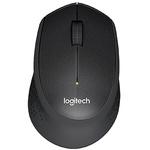 Logitech M330 3 Button Wireless Optical Mouse Black