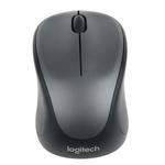 Logitech M235 3 Button Wireless Compact Optical Mouse Grey