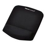 Fellowes Black Mouse Pad & Wrist Rest